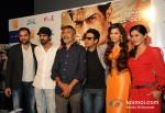Abhay Deol, Arjun Rampal, Prakash Jha, Manoj Bajpai, Esha Gupta And Anjali Patil Promoting Chakravyuh Movie In Delhi Pic 2