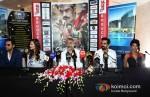 Abhay Deol, Esha Gupta, Prakash Jha, Arjun Rampal And Anjali Patil At Chakravyuh Movie Premiere In London