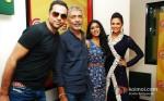 Abhay Deol, Prakash Jha, Anjali Patil And Esha Gupta Promoting Chakravyuh Movie At Radio Mirchi 98.3 FM