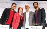 Abhay Deol, Prakash Jha And Arjun Rampal Promoting Chakravyuh Movie At BFI London Film Festival 2012