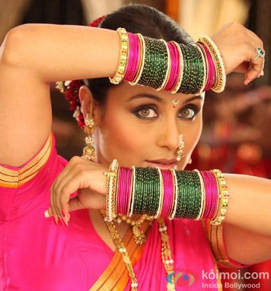 Rani Mukerji in a still from Aiyyaa Movie