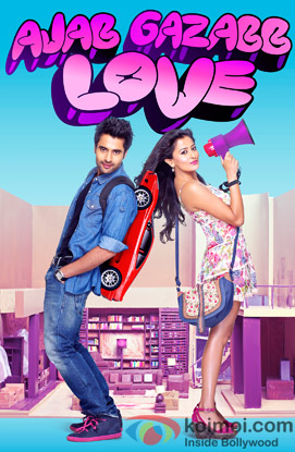 Ajab Gazabb Love Review (Ajab Gazabb Love Movie Poster)