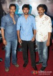 Ajay Devgan, Nani And S. S. Rajamouli At Makkhi Movie Press Meet