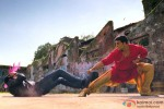 Akshay Kumar in a fight sequence in Khiladi 786 Movie Stills