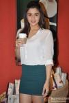 Alia Bhatt Promoting Student Of The Year Movie At Starbucks Coffee Shop Pic 1