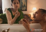 Anita Majumdar And Rahul Bose In Midnight's Children Movie Stills