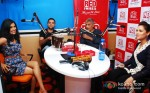Anjali Patil, Abhay Deol, Prakash Jha And Esha Gupta Promoting Chakravyuh Movie At RED FM 93.5