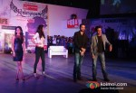 Anjali Patil, Esha Gupta, Arjun Rampal And Manoj Bajpai Promoting Chakravyuh Movie In Delhi