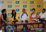 Anjali Patil, Prakash Jha, Esha Gupta And Abhay Deol Promoting Chakravyuh Movie At Indian Express Office