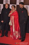 Anupam Kher And Kirron Kher At Amitabh Bachchan's 70th Birthday Bash
