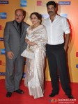 Anupam Kher, Kirron Kher And Sikander Kher At 14th Mumbai Film Festival Opening