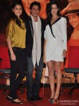 Anushka Sharma, Shah Rukh Khan, Katrina Kaif At Jab Tak Hai Jaan Movie Press Conference Pic 5