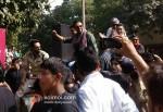 Arjun Rampal, Abhay Deol, Prakash Jha And Esha Gupta Promoting Chakravyuh Movie At Delhi Hindu College PIc 2