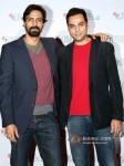 Arjun Rampal And Abhay Deol Promoting Chakravyuh Movie At BFI London Film Festival 2012