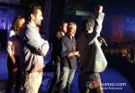 Arjun Rampal, Esha Gupta, Abhay Deol, Prakash Jha And Manoj Bajpai Promoting Chakravyuh Movie In Delhi