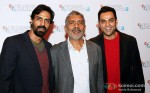 Arjun Rampal, Prakash Jha Abhay Deol Promoting Chakravyuh Movie At BFI London Film Festival 2012