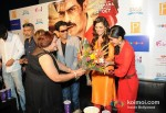Arjun Rampal, Prakash Jha, Manoj Bajpai, Esha Gupta And Anjali Patil Promoting Chakravyuh Movie In Delhi