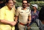 Arjun Rampal Promoting Chakravyuh Movie At Delhi Hindu College Pic 1