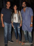 Ashutosh Gowariker, Sunita Gowariker And Ashvin Gowariker Attends Student Of The Year Movie Special Screening At PVR Cinemas