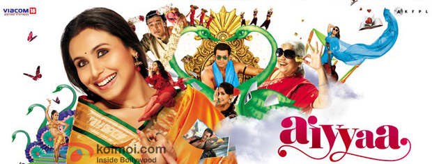 Rani Mukerji starrer Aiyyaa Movie Poster Wallpaper