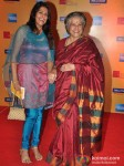 Bhavna Balsavar And Shobha Khote At 14th Mumbai Film Festival Opening