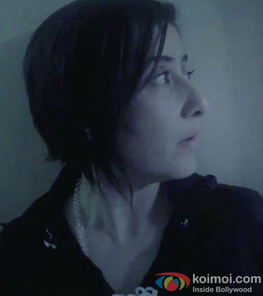 Manisha Koirala in a still from Bhoot Returns Movie