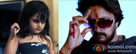 Alayana Sharma from Bhoot Returns Movie & Sudeep from Makkhi Movie