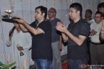 Bhushan Kumar At T Series Ganpati Visarjan
