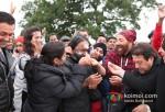 Bobby Deol And Sunny Deol At Sangeeth Sivan's Birthday Bash On The Sets Of Yamla Pagla Deewana 2 Movie Pic 3