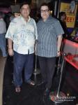 David Dhawan And Ramesh S Taurani At Bhoot Returns Movie Premiere