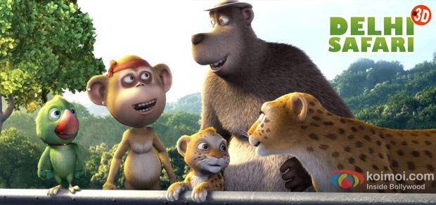 Delhi Safari Review (Delhi Safari Movie Stills)