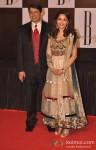 Dr. Shriram Nene And Madhuri Dixit At Amitabh Bachchan's 70th Birthday Bash