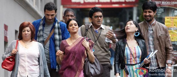 Sridevi in a still from English Vinglish Movie