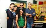 Esha Gupta, Anjali Patil, Abhay Deol And Prakash Jha Promoting Chakravyuh Movie At Radio Mirchi 98.3 FM