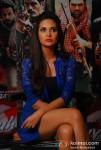 Esha Gupta At Mehboob Studio For Chakravyuh Music Interviews Pic 2