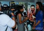 Esha Gupta At Mehboob Studio For Chakravyuh Music Interviews Pic 3