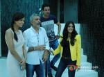 Esha Gupta, Prakash Jha, Manoj Bajpai And Anjali Patil Promoting Chakravyuh Movie At Indian Express Office