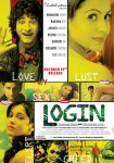 Himanshu Bhatt, Rashmi Gautam, Siddarth Chopra, Radhika Roy, K.K. Binojee, Nandini Rai And Akkash Basnet In Login Movie Poster