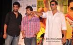 Himesh Reshammiya And Akshay Kumar At Khiladi 786 Movie Teaser Trailer Launch