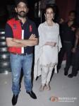 J. D. Chakravarthy And Manisha Koirala At Bhoot Returns Movie Premiere Pic 2
