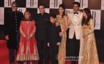 Jaya Bachchan, Shweta Nanda, Abhishek Bachchan And Aishwarya Rai Bachchan At Amitabh Bachchan's 70th Birthday Bash Pic 1