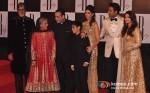 Jaya Bachchan, Shweta Nanda, Abhishek Bachchan And Aishwarya Rai Bachchan At Amitabh Bachchan's 70th Birthday Bash Pic 2