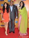 Jhanvi Kapoor, Boney Kapoor And Sridevi At 14th Mumbai Film Festival Opening