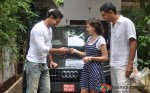 John Abraham Gifts Audi Q Life To Sister-In-law On Her Birthday In Bandra Pic 2