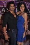 Karanvir Bohra and Teejay Sidhu At Hard Kaur's Album launch P.L.A.Y Party Loud All Year