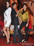 Katrina Kaif, Shah Rukh Khan And Anushka Sharma At Jab Tak Hai Jaan Movie Press Conference Pic 2