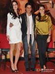 Katrina Kaif, Shah Rukh Khan And Anushka Sharma At Jab Tak Hai Jaan Movie Press Conference Pic 1