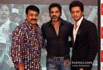 Mohanlal, Sunil Shetty And Ritesh Deshmukh At Press Conference Of (Celebrity Cricket League) CCL T20 Season 3