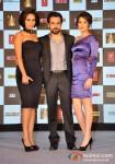 Neha Dhupia, Emraan Hashmi And Sagarika Ghatge At Rush Movie Music Launch Pic 2
