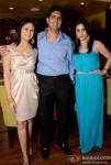 Nitya Satyani and Shravan Satyani At Maheep Kapoor's Festive Collection Launch